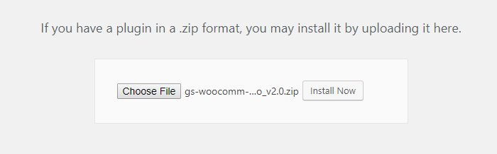 Select File to Install